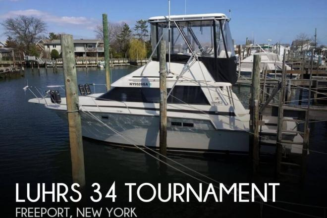 1990 luhrs 342 tournament 34 foot 1990 luhrs fishing for Freeport fishing boats