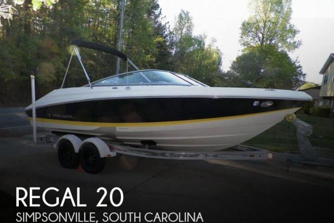 2007 regal 2000 vbr 20 foot 2007 regal motor boat in for Used boat motors for sale in sc