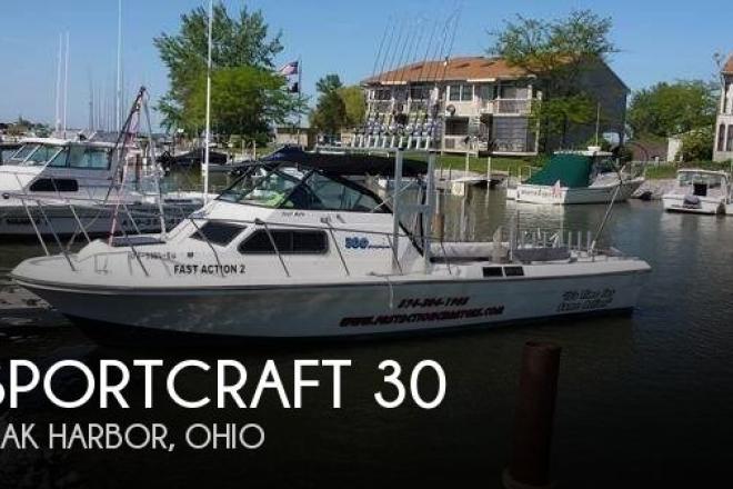 1986 sportcraft 30 30 foot 1986 fishing boat in oak for Oak harbor motors service department