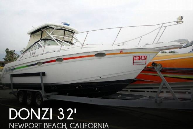 1998 donzi 3250 lxf express 32 foot 1998 donzi fishing for Donzi fishing boats