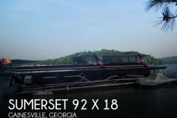 1999 Sumerset Houseboats 92 X 18