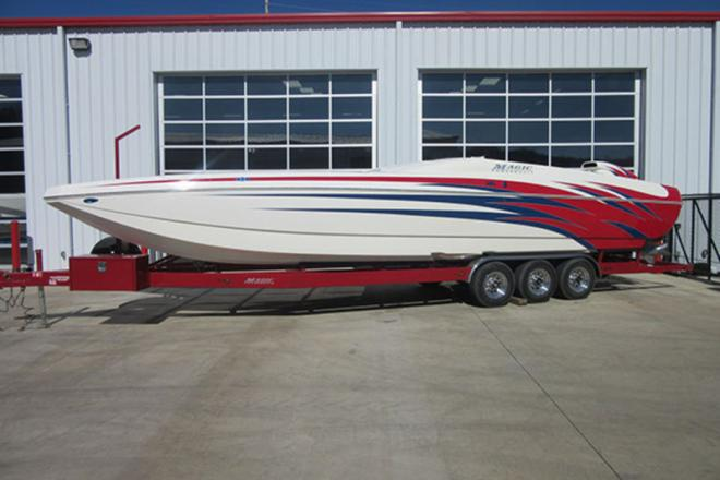 2005 Magic 34 Sceptor Open Bow - For Sale at Osage Beach, MO 65065 - ID 96070