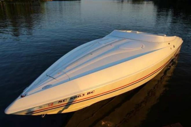 1997 baja 302 30 foot 1997 baja high performance motor for Used boat motors for sale in sc