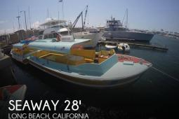 1975 Seaway Boats Company Custom 28' Water Taxi