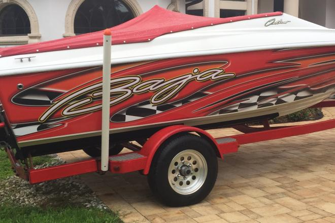 2004 Baja 20 Outlaw 20 Foot 2004 Baja High Performance