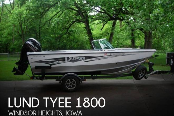 2014 lund tyee 1800 18 foot 2014 lund fishing boat in for Used fishing boats for sale in iowa