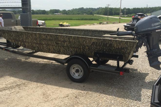 2016 Alumacraft Water Fowler 16 LX  Great Rebates  Make Offer!! - For Sale at Jefferson City, MO 65101 - ID 99633