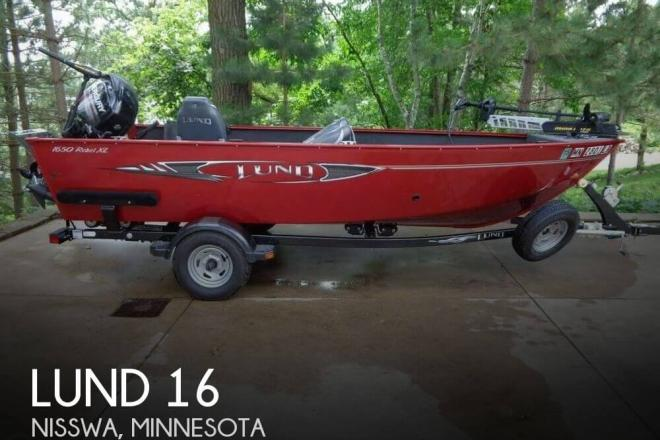 2013 lund 16 16 foot 2013 lund fishing boat in nisswa mn for Used fishing boats for sale mn