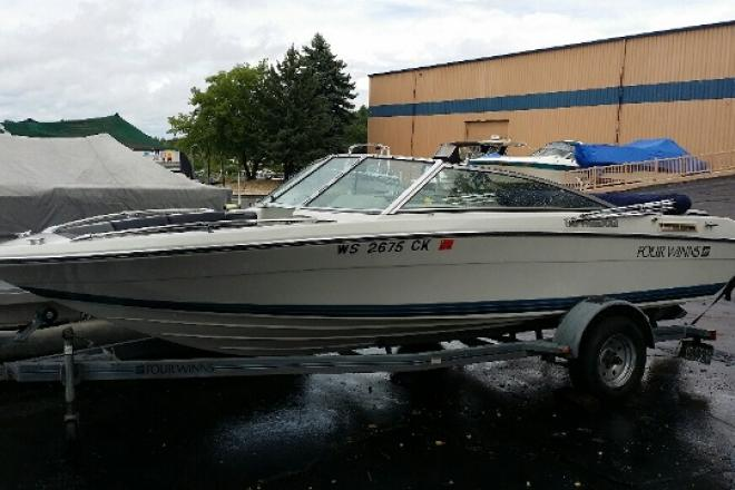 1990 Four Winns 170F - For Sale at Pewaukee, WI 53072 - ID 99898