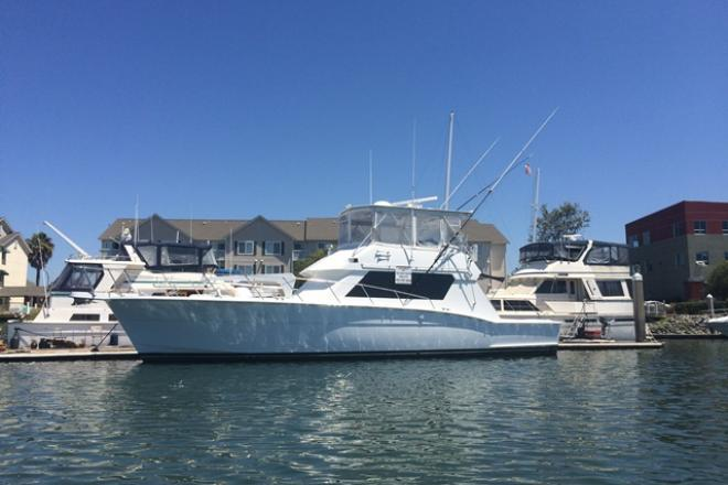 1988 Hatteras 52 CONVERTIBLE - For Sale at Sausalito, CA 94965 - ID 102518