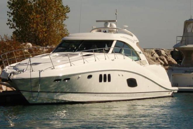 2008 Sea Ray 55 SUNDANCER - For Sale at Winthrop Harbor, IL 60096 - ID 97534