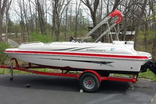 Starcraft new and used boats for sale in wisconsin for Used fishing boats for sale in wisconsin