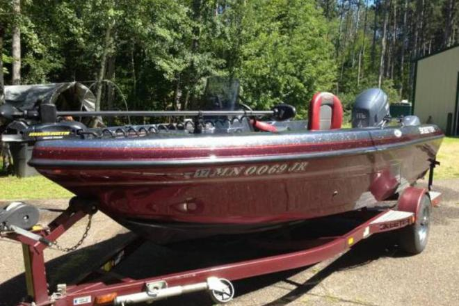 2003 skeeter zx 1775 17 foot 2003 fishing boat in stacy for Used fishing boats for sale mn