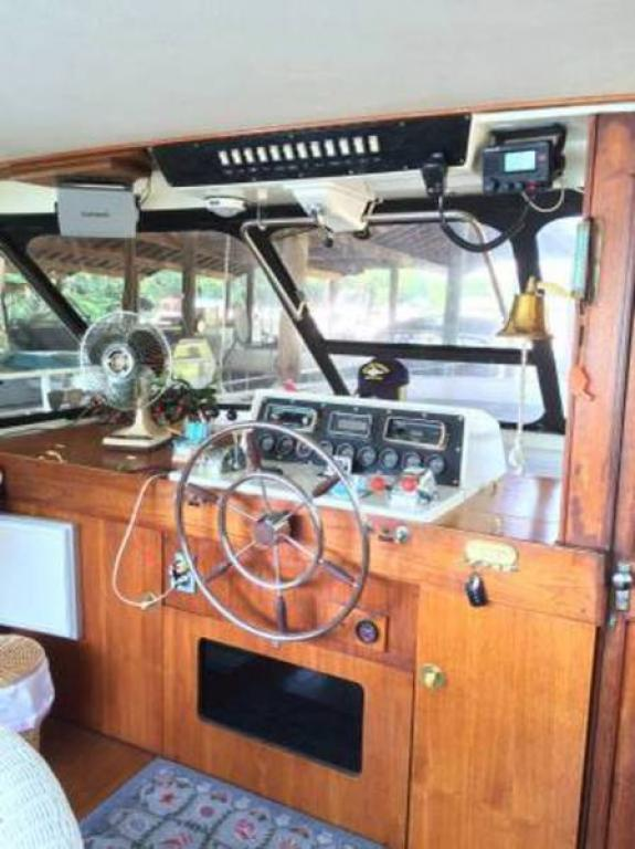 1974 Trojan F 44 Flush Deck Motor Yacht For Sale At