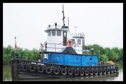 1966 Tug Boats Model Bow