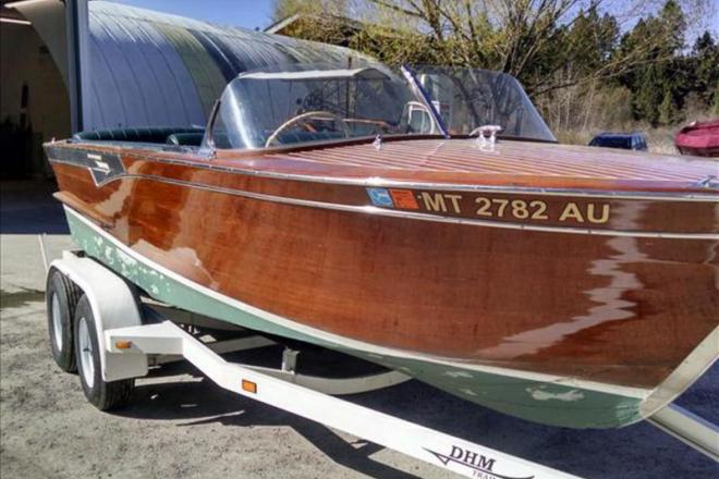 1964 shepherd utility 19 foot 1964 motor boat in Shepherds motors