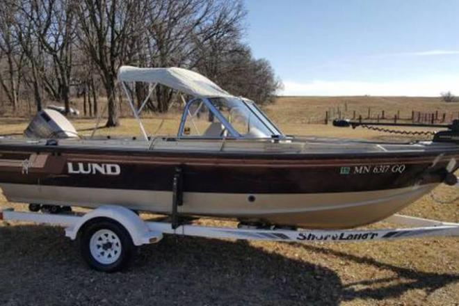 1994 lund 1850 tyee for sale at dent mn 56528 id 108209 for Fishing boats for sale in iowa