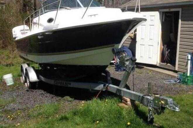 2003 aquasport 215 explorer 22 foot 2003 fishing boat in for Staten island fishing