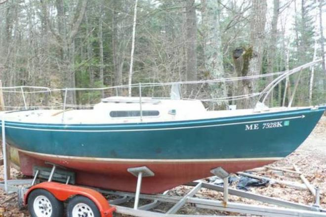 1964 Sailmaster 22D Daysailer - For Sale at Woolwich, ME 4579 - ID 108428