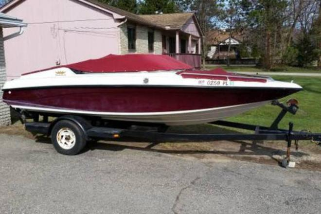 1993 Crownline 182 Bowrider - For Sale at Waterford, MI 48327 - ID 108447