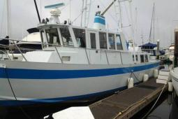 1990 Ted Brewer Long Range Trawler