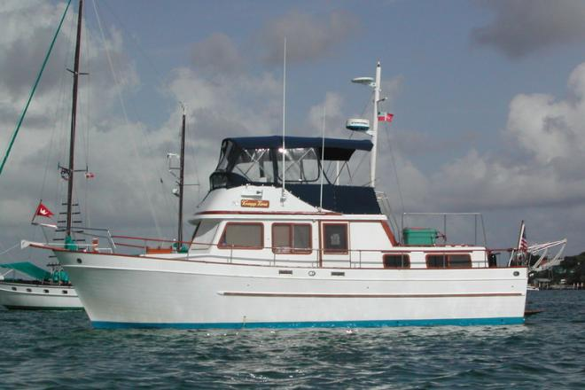 1983 Marine Trader Trunk Style Trawler - For Sale at Palatka, FL 32177 - ID 108621