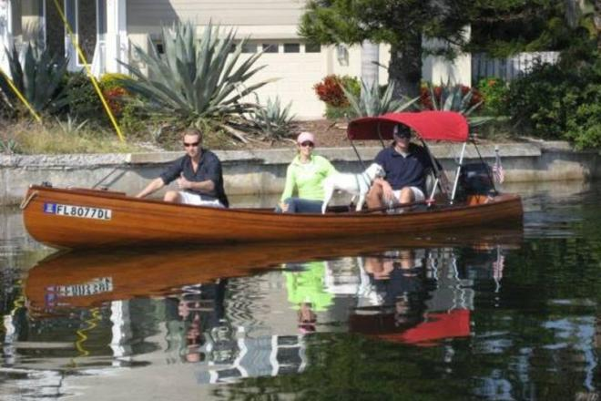 1997 Custom Built Feather Canoes Cedar Strip - For Sale at Bradenton, FL 34282 - ID 109095