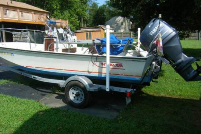 1984 Boston Whaler 17 Montauk - For Sale at Harwood, MD 20776 - ID 109128