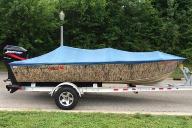 2007 Crestliner Canadian - For Sale at Chesterfield, MI 48047 - ID 109141