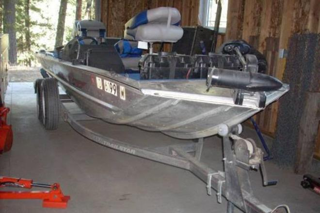 1990 Bass Tracker Pro 17 - For Sale at Boise, ID 83701 - ID 109146