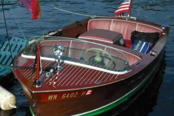 1950 Chris Craft Cavalier Runabout - For Sale at Seattle, WA 98116 - ID 109147