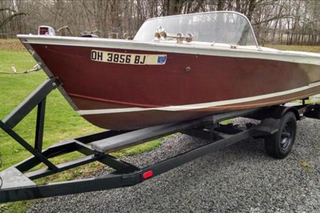 1960 Chris Craft Cavalier - For Sale at Kinsman, OH 44428 - ID 109159