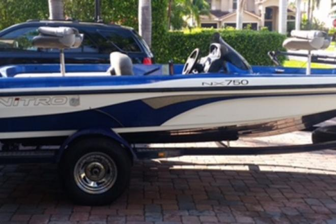 2001 Tracker Nitro NX 750 - For Sale at Boynton Beach, FL 33424 - ID 109169
