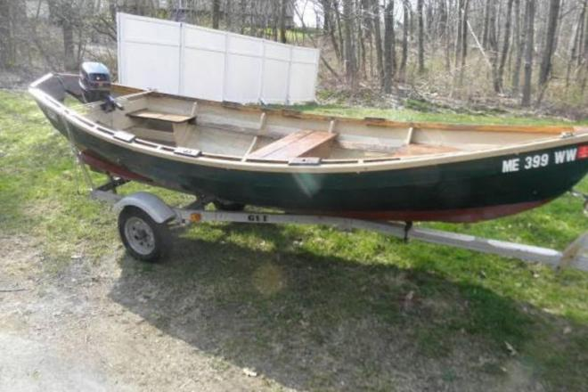 1985 Custom Built Lowell Boat Surf Dory - For Sale at Winthrop, ME 4364 - ID 109175