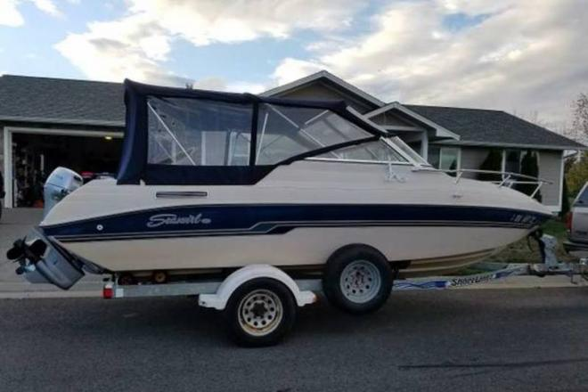 1996 Seaswirl 201 Cuddy - For Sale at Sequim, WA 98382 - ID 109183
