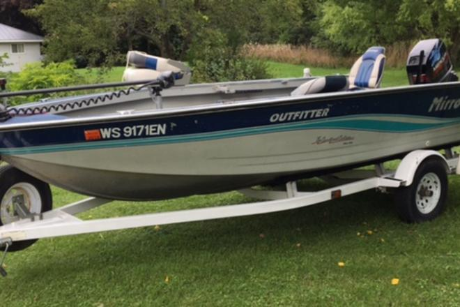 1997 Mirrocraft Outfitter - For Sale at Lake Geneva, WI 53147 - ID 109192