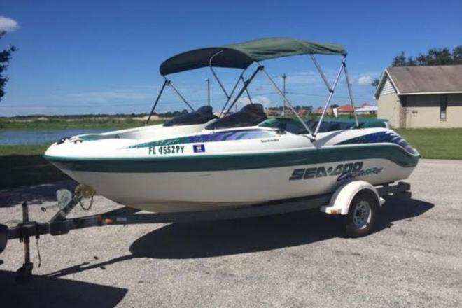 1998 Sea Doo Challenger 1800 - For Sale at Riverview, FL 33568 - ID 109194