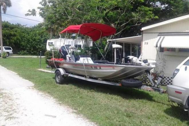 1993 Lowe Bass Boat - For Sale at Barefoot Bay, FL 32976 - ID 109197