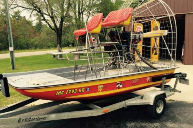 1995 Airboat Fiberglass - For Sale at Manistique, MI 49854 - ID 109227