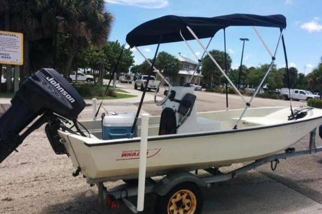 1986 Boston Whaler Runabout - For Sale at Lake Worth, FL 33449 - ID 109278