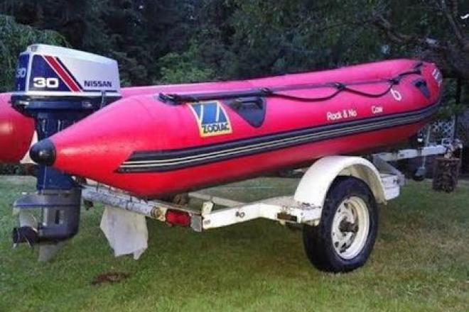 1999 Zodiac Pro II - For Sale at Seattle, WA 98116 - ID 109279
