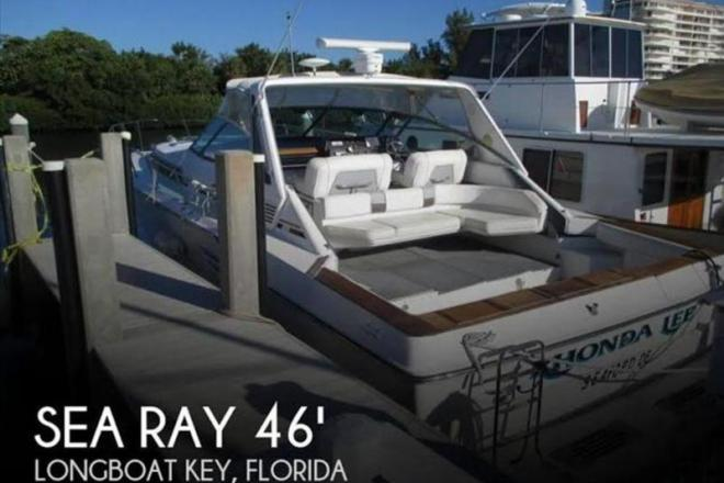 1987 Sea Ray 460 Express Cruiser - For Sale at Longboat Key, FL 34228 - ID 109288