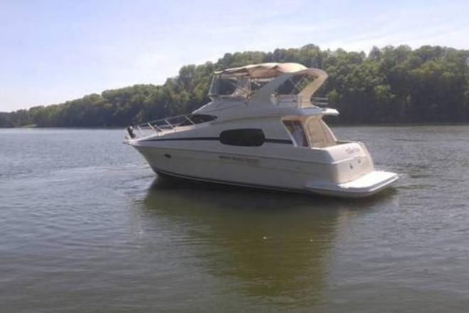 2001 Silverton 410 Sportbridge - For Sale at Knoxville, TN 37901 - ID 109289