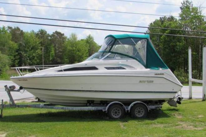 1991 Rinker 235 Fiesta Vee - For Sale at Rutland, VT 5701 - ID 109353