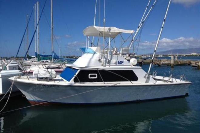 1977 Luhrs 28 - For Sale at Pearl City, HI 96782 - ID 109355