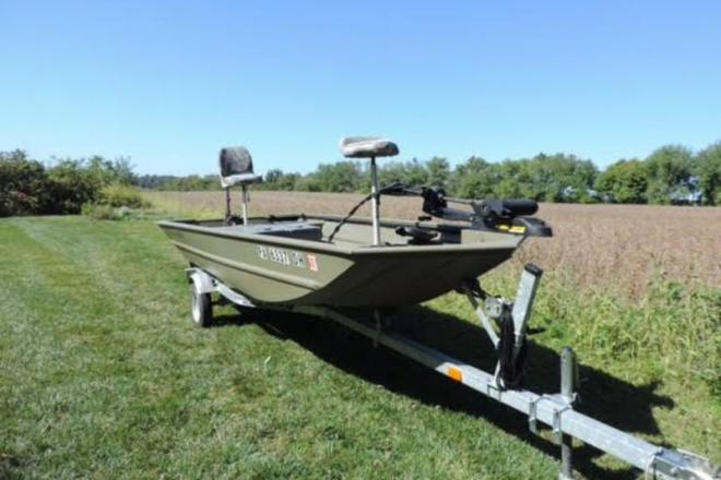 2012 Tracker Grizzly 1648 - For Sale at Honey Brook, PA 19344 - ID 109495