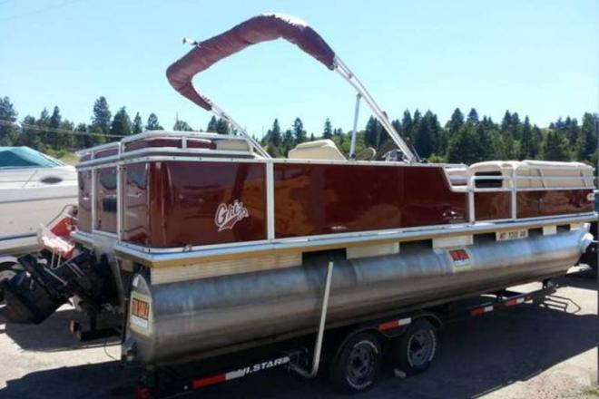 2001 Sun Tracker Party Barge - For Sale at Stevensville, MT 59870 - ID 109528
