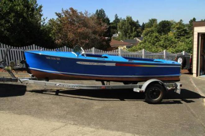 1947 Chris Craft Rocket Runabout - For Sale at Steilacoom, WA 98388 - ID 109547