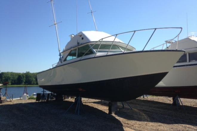 1973 Bertram Flybridge - For Sale at Bellmore, NY 11710 - ID 109567