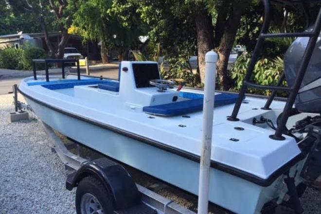 1991 Action Craft Very Custom Flats Boat - For Sale at Bellmore, NY 11710 - ID 109591